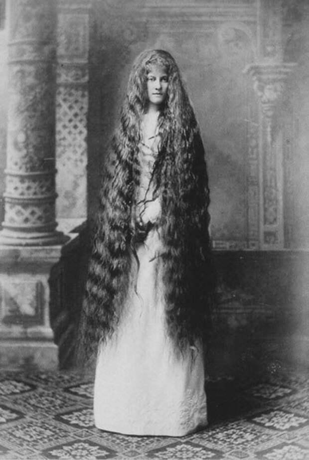 Rapunzels03 История красоты — известные «рапунцели» XIX века
