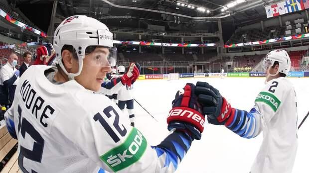 США сыграют со Словакией, Финляндия — с Чехией в 1/4 финала чемпионата мира