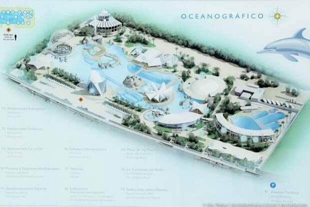 Океанографический парк Валенсии