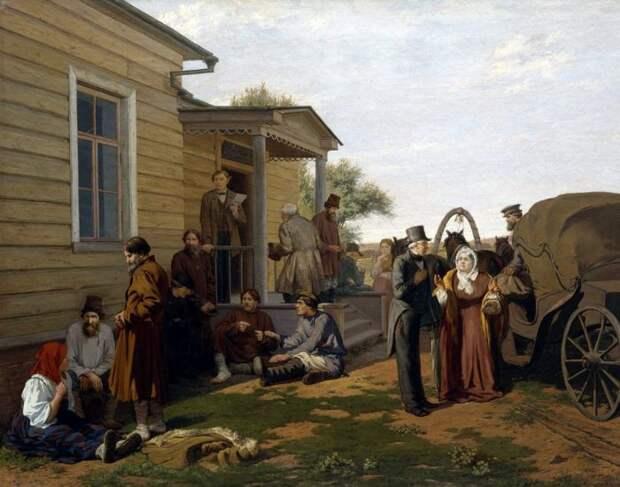 Дореволюционная Россия в картинах Константина Савицкого.