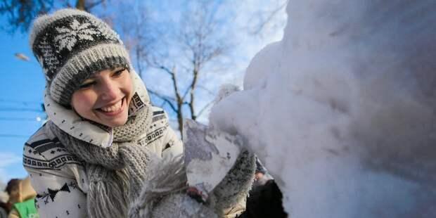 Зимине забавы будут ждать на Псковской жителей Лианозова