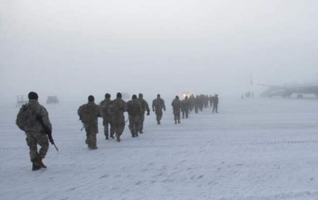 Наш ответ НАТО? Русских морпехов заметили в 250 км от штата Аляски