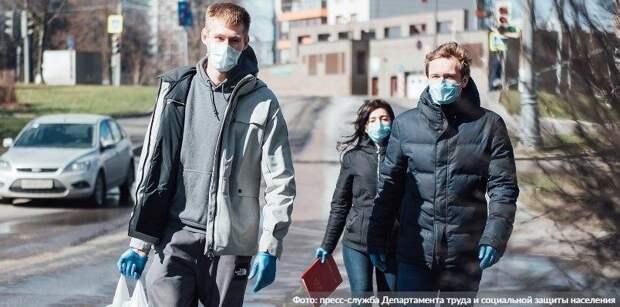 Соблюдение антиковидных мер позволяет не вводить более строгих мер. Фото: Пресс-служба Департамента труда и социальной защиты населения города Москвы