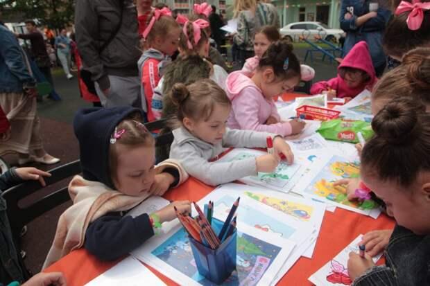Детский праздник пройдет на спортплощадке на 3-й улице Марьиной Рощи