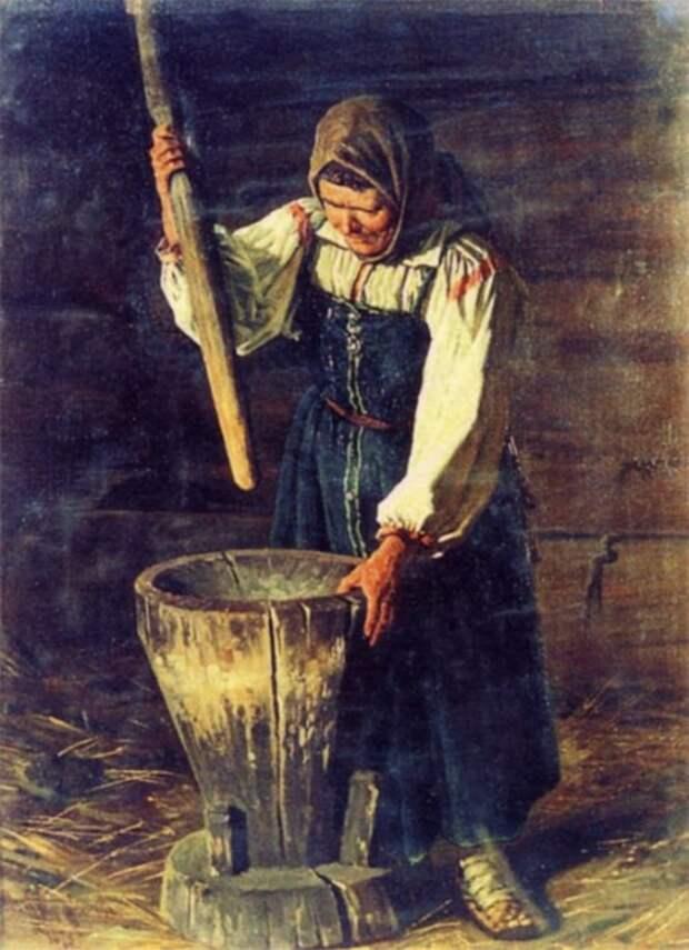 Толочь воду в ступе  русские, смысл, фразы