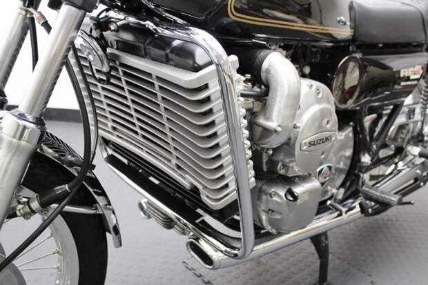 Радиатор охлаждения огромных размеров suzuki, мото, мотоцикл, рпд