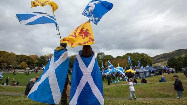 ЕС поможет Шотландии обрести независимость