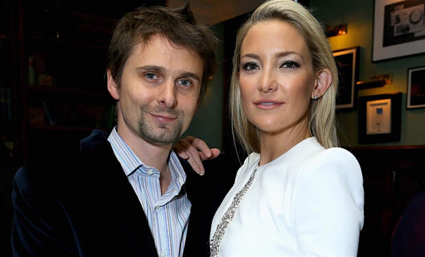 Кейт Хадсон отметила день рождения сына с бывшим бойфрендом Мэттью Беллами и его женой