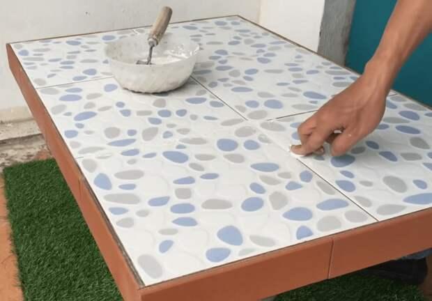 Полезная и стильная идея из остатков плитки