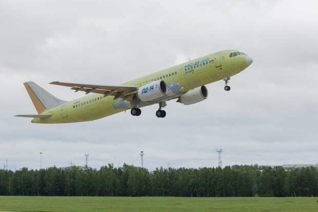 Первый мс-21-310 с российским двигателем прилетел в Ульяновск - Возвращаем наше небо.