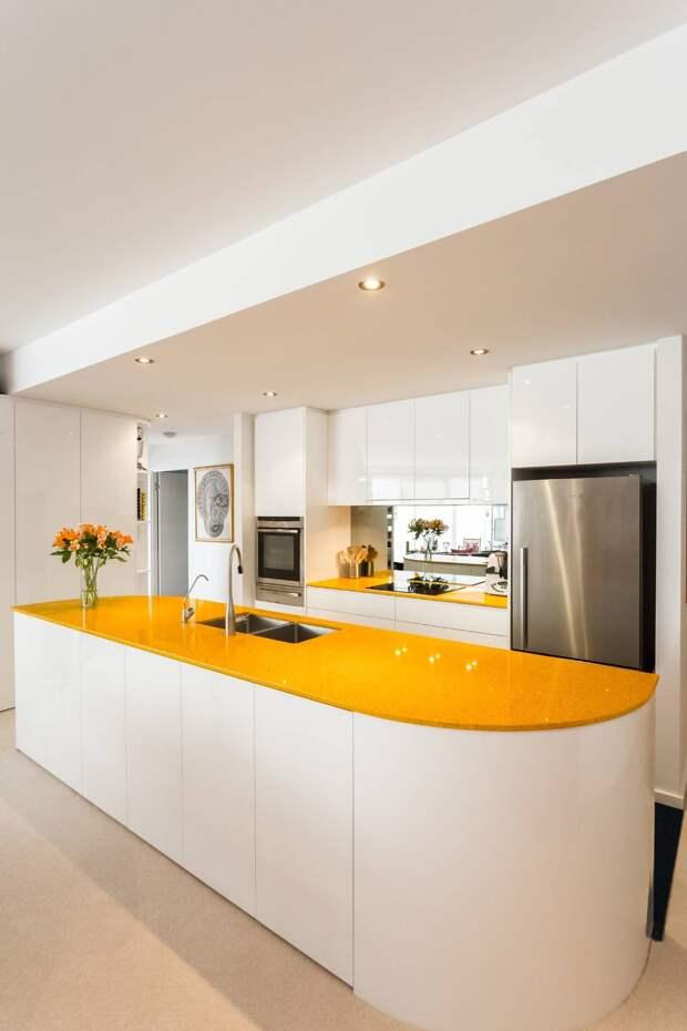 Столешница для кухни — интересные идеи для дизайна