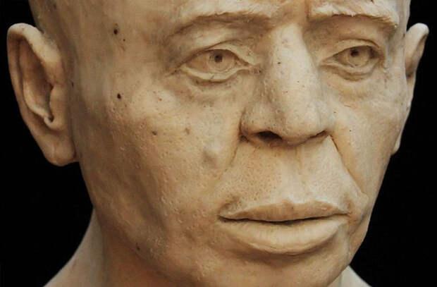 Британские ученые воссоздали лицо мужчины, жившего 9500 лет назад в Иерихоне