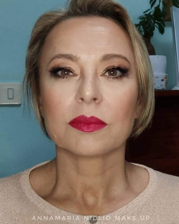Какой макияж портит женщину после 50 ? ТОП-5 ошибок