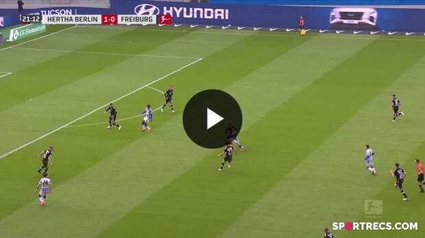 Hertha Berlin - Freiburg (3-0) - Maç Özeti - Bundesliga 2020/21