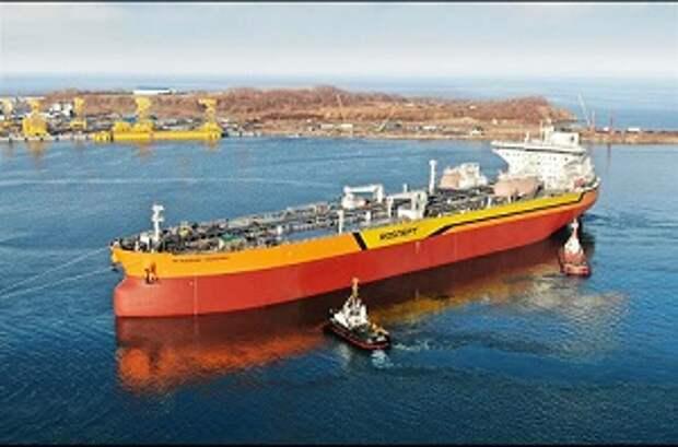 Это реальная победа: Путин о спуске на воду российского танкера типа «Афрамакс» «Владимир Мономах»