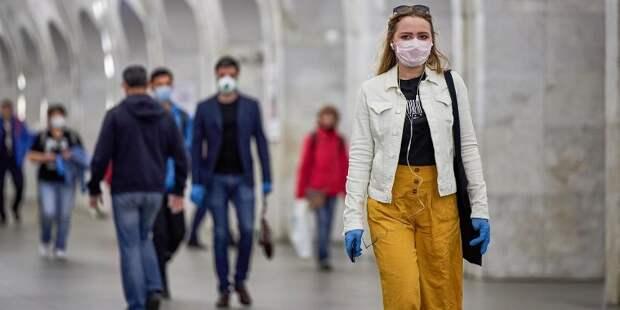 Ношение масок в Москве останется обязательным довольно продолжительное время