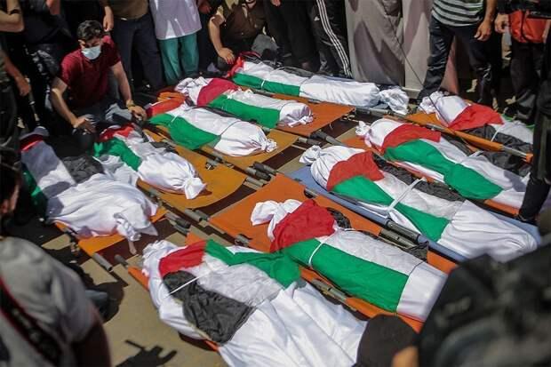Число жертв в секторе Газа превысило 200 человек