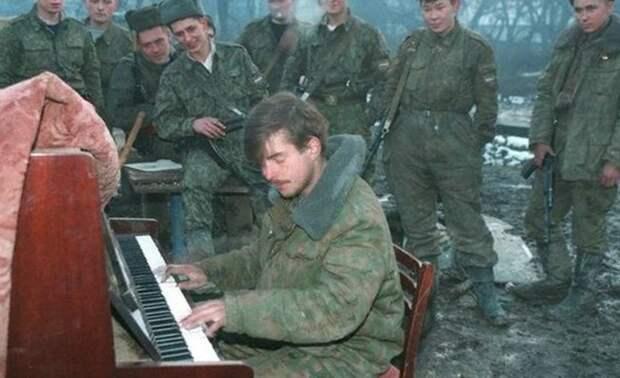 Новогодняя ночь в Грозном.
