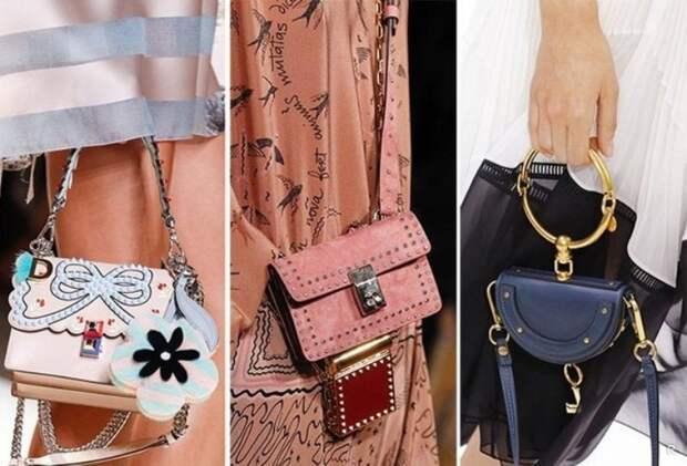 Модные сумки 2020 представлены на фото, и это самые последние женские тренды