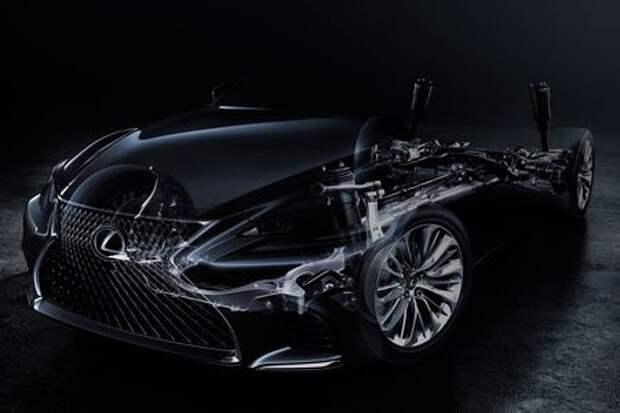 Lexus показал седан LS нового поколения