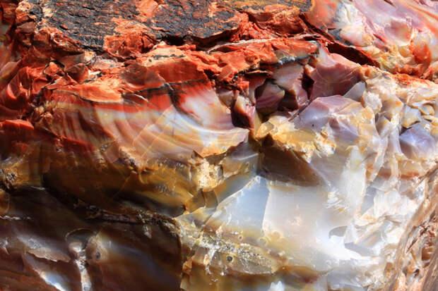 Закат, который застыл в камне. Волшебные творения времени