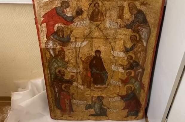 В Москве задержан предполагаемый похититель древней иконы