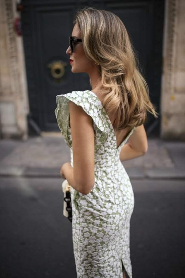 Элегантное летнее платье - все размеры выкройка