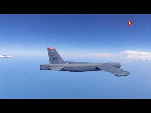 Как иностранные пользователи отреагировали на перехват В-52 российскими Су-27