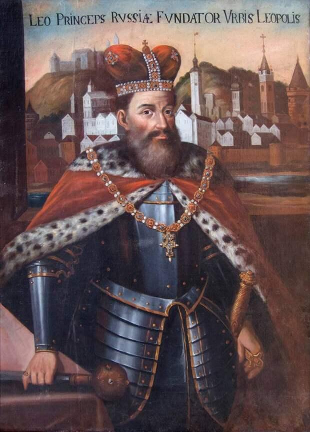 Князь Лев Данилович. Раскол династии