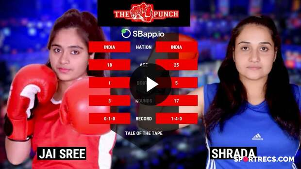 @The Punch Boxing Shradha vs jayshree |women boxing