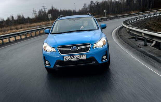 Российская версия Subaru XV Hyper Edition появится в мае