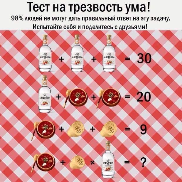 Большинство пользователей Рунета завалили тест на трезвость ума