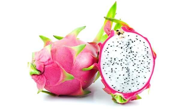 10. Питайя (драконий фрукт) фрукты, экзотические фрукты