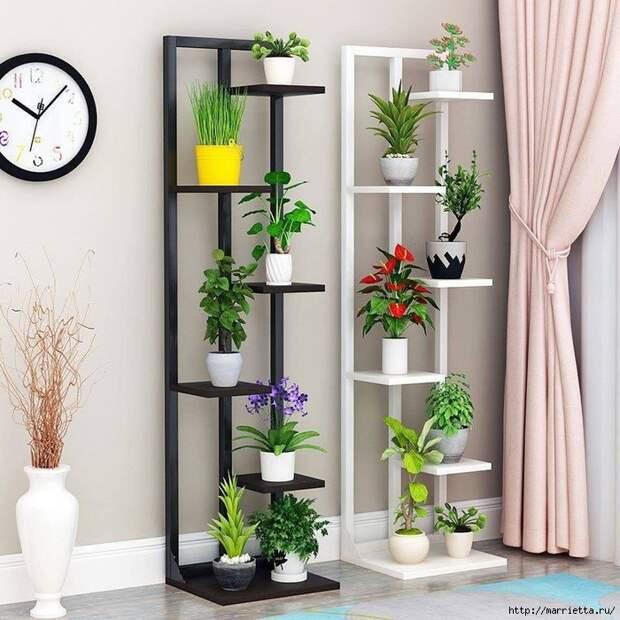 Подставки для комнатных цветов. Идеи (13) (700x700, 348Kb)