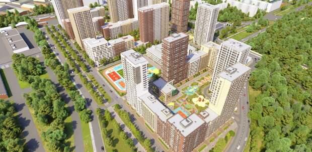В ЖК «Сиреневый парк» построят еще один дом на1351 квартиру