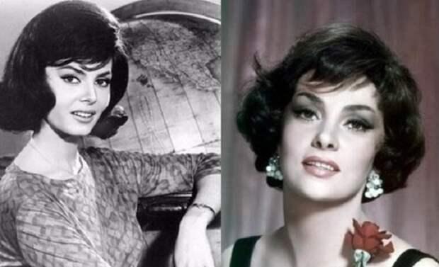 Слева: актриса Мишель Мерсье, справа: актриса Джина Лоллобриджида. | Фото: cs622430.vk.me.