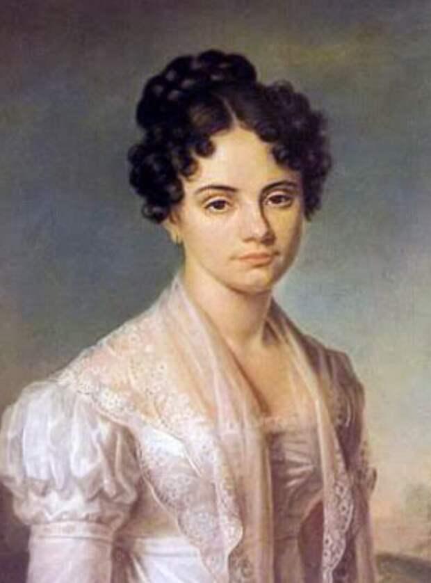 Мария Волконская, неизвестный художник, Источник: wikiCommons