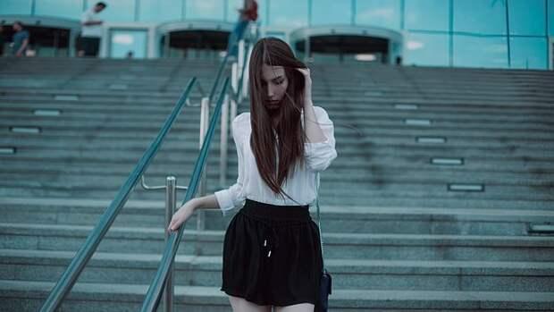 Фотосессия, Под Москва-Сити, Черная Юбка