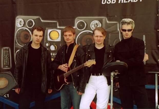Группа *Технология* после воссоединения, 2003   Фото: tehnologia.info
