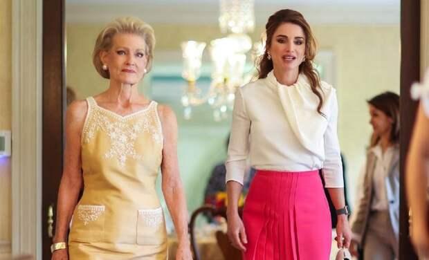 Королева Рания встретилась с женой главы NASA в Вашингтоне
