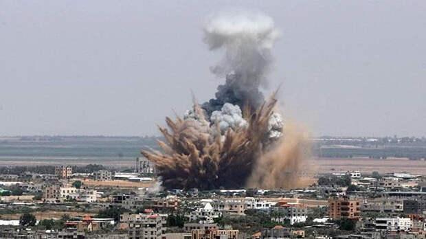 ВВС Израиля атаковали девять ракетных установок в секторе Газа