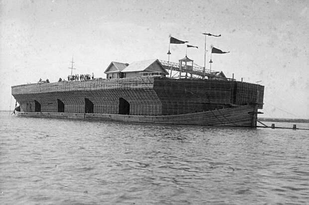 Как по русским рекам плавали деревянные города-беляны(ФОТО)
