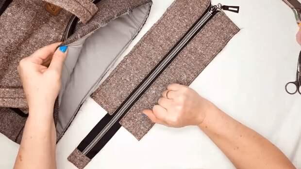 Привлекательная и добротная идея переделки старого пальто