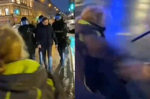 ВМВД прокомментировали сокрытие имени силовика, пнувшего женщину вживот