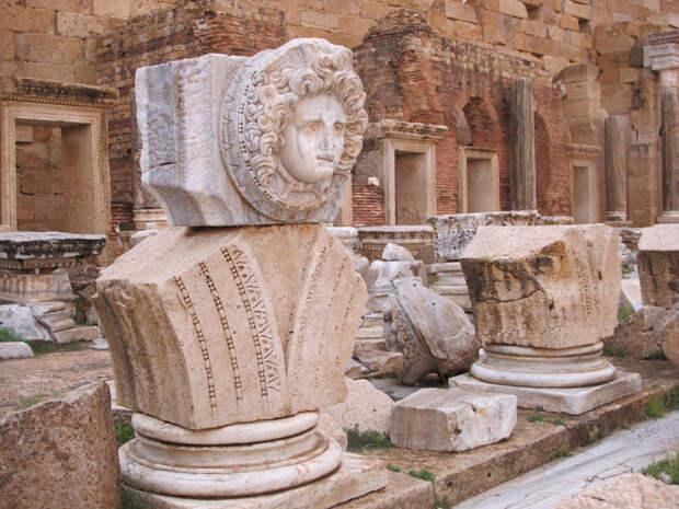 Статуя Медузы, считавшейся богиней плодородия в Северной Африке. \ Фото: asor.org.