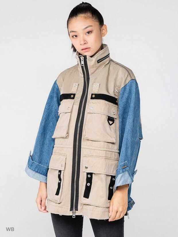Необычная куртка Diesel
