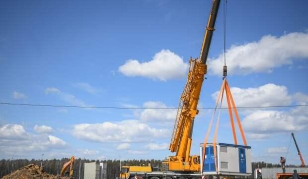 Готовность строящегося первого участка Троицкой линии метро составляет 35%