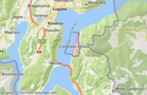 Швейцария вернула город Италии