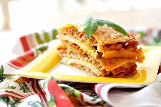 Десятка блюд итальянской кухни в фотографиях
