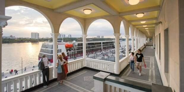 Собянин: Всего за год парк Северного речного вокзала посетили более 1,5 млн человек